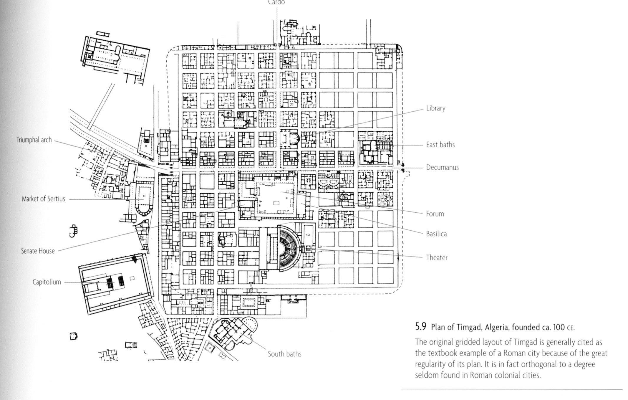 Timgad Textbook How To Plan Algeria