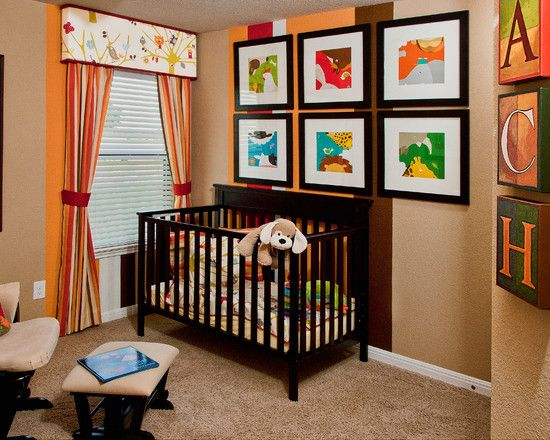 unisex babys room ideas pictures as your birth preparations colorful wall paintings with soft brown - Baby Room Ideas Unisex