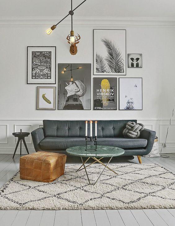Composici n de cuadros irregulares paredes interiores - Composicion de cuadros ...