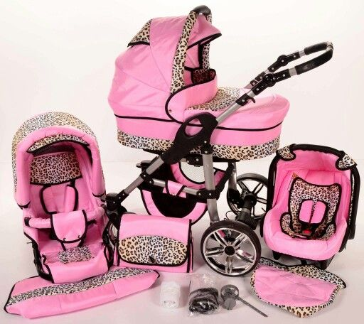 Pink leopard print stroller and carseat | BABY GIRL ...