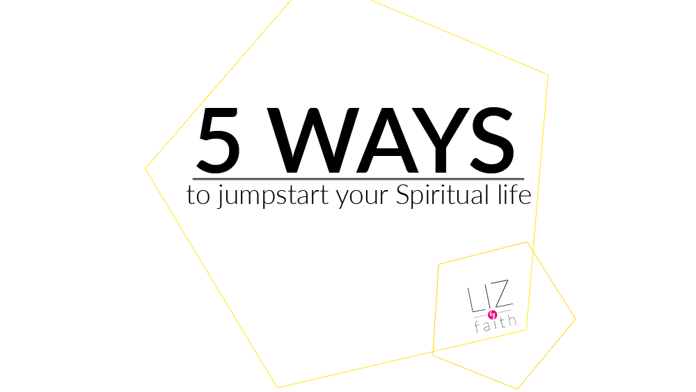 5 Ways to Jumpstart your Spiritual Life for the new year. Have you been experiencing spiritual ups and downs? So have I. Prayerfully this will help restart your relationship with Christ this year. #christian #biblestudy #biblestudies #howto #devotional