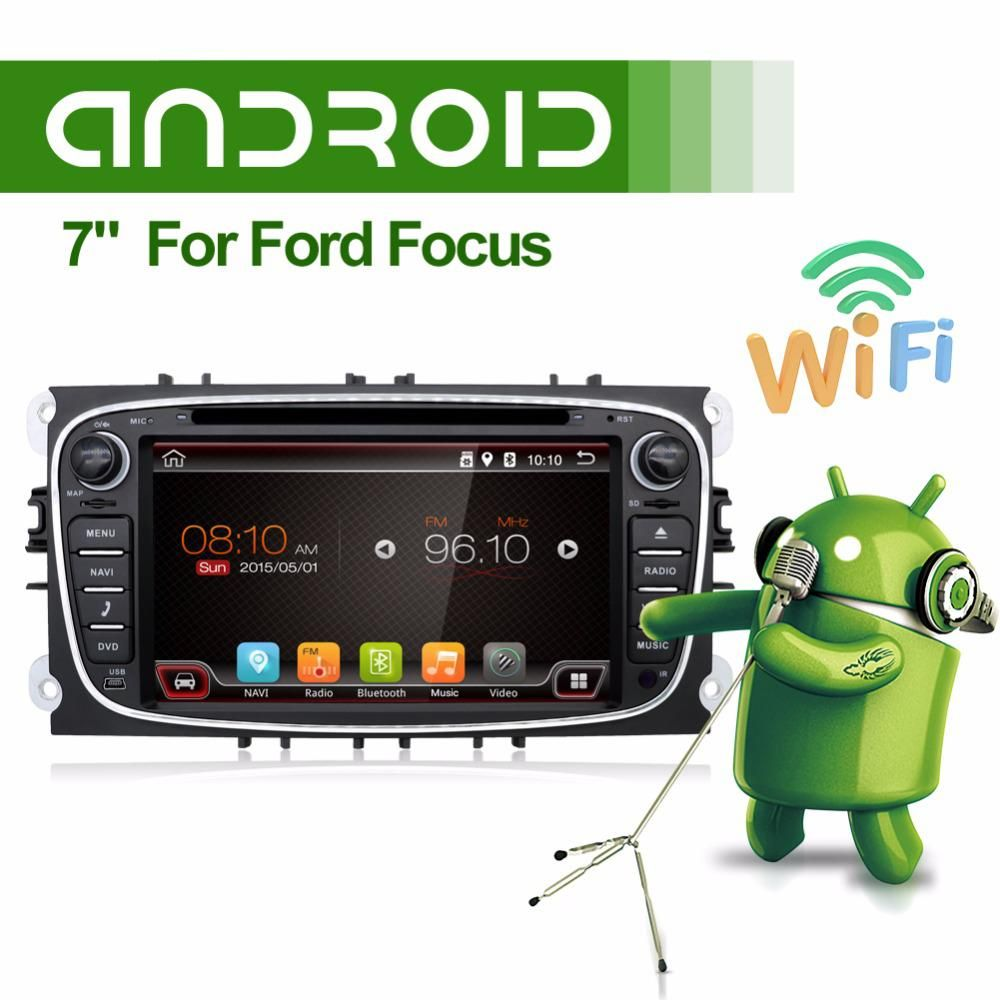 8 Core Capacitive Screen Android 9 0 Car Dvd Navigation For Ford