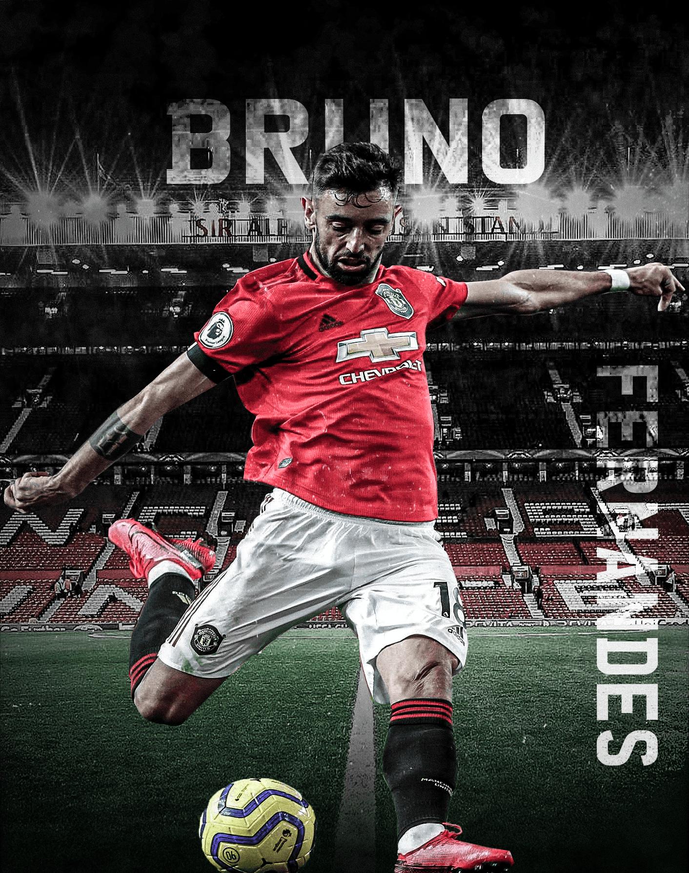 Bruno Fernandes In 2020 Manchester United Wallpaper Manchester United Players Manchester United