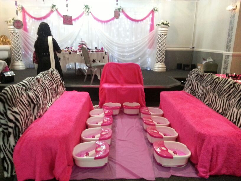 Kids Mobile Spa Party Pool Design Ideas Kids spa party