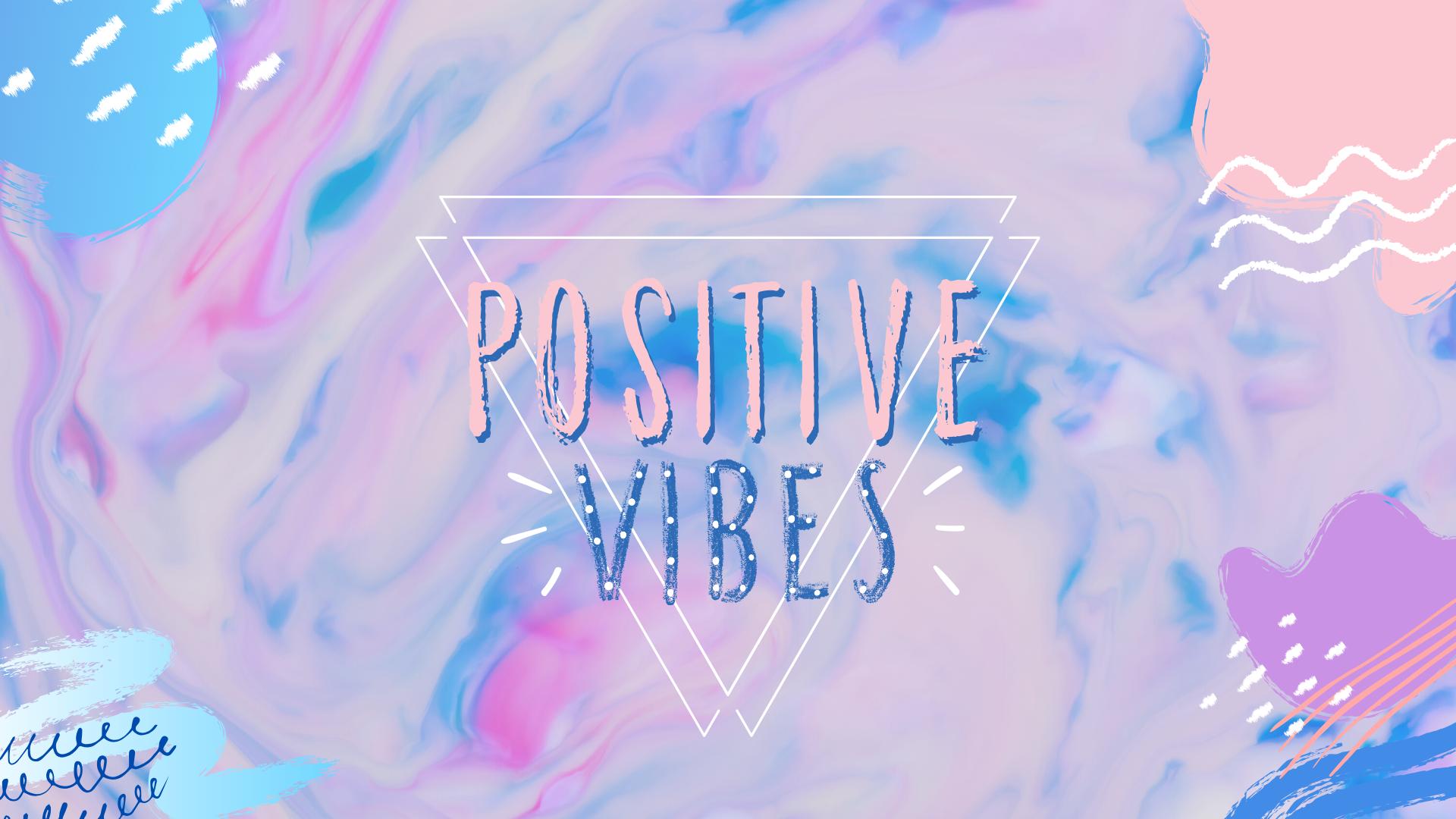 Positive Vibes Pastel Background Pastel Background Cute Pastel Background Pastel