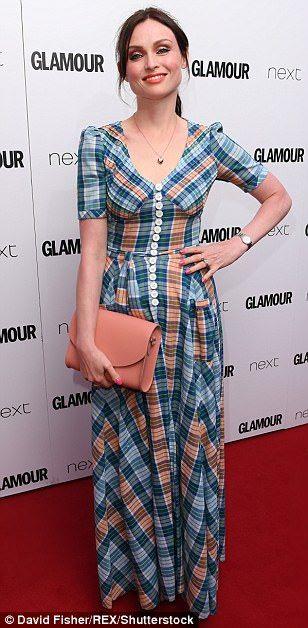 Lovely ladies: Sophie Ellis-Bextor, Billie Piper and Gabby Logan also made glamorous arriv...