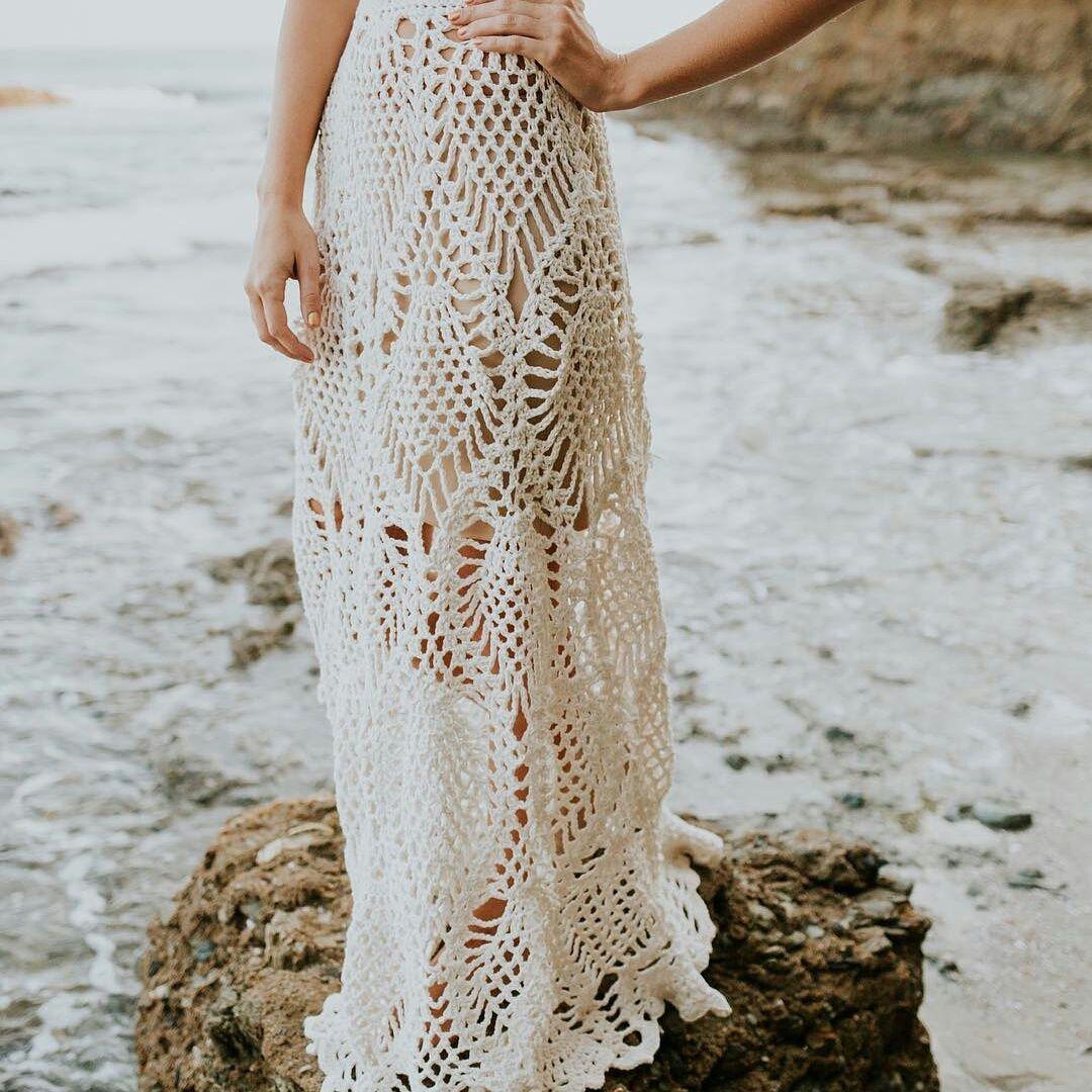клещевина обыкновенная платье с ананасами крючком фото кто