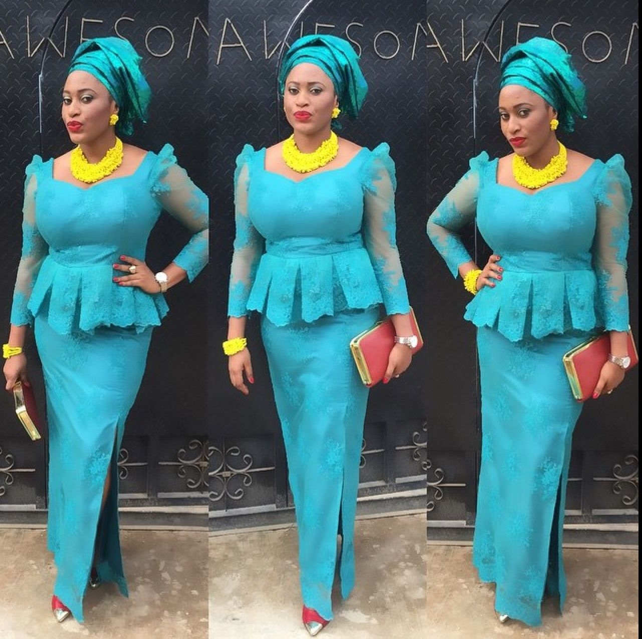 Pin by Elly Kyekue on African Fashion | Pinterest | Aso ebi, Aso ...