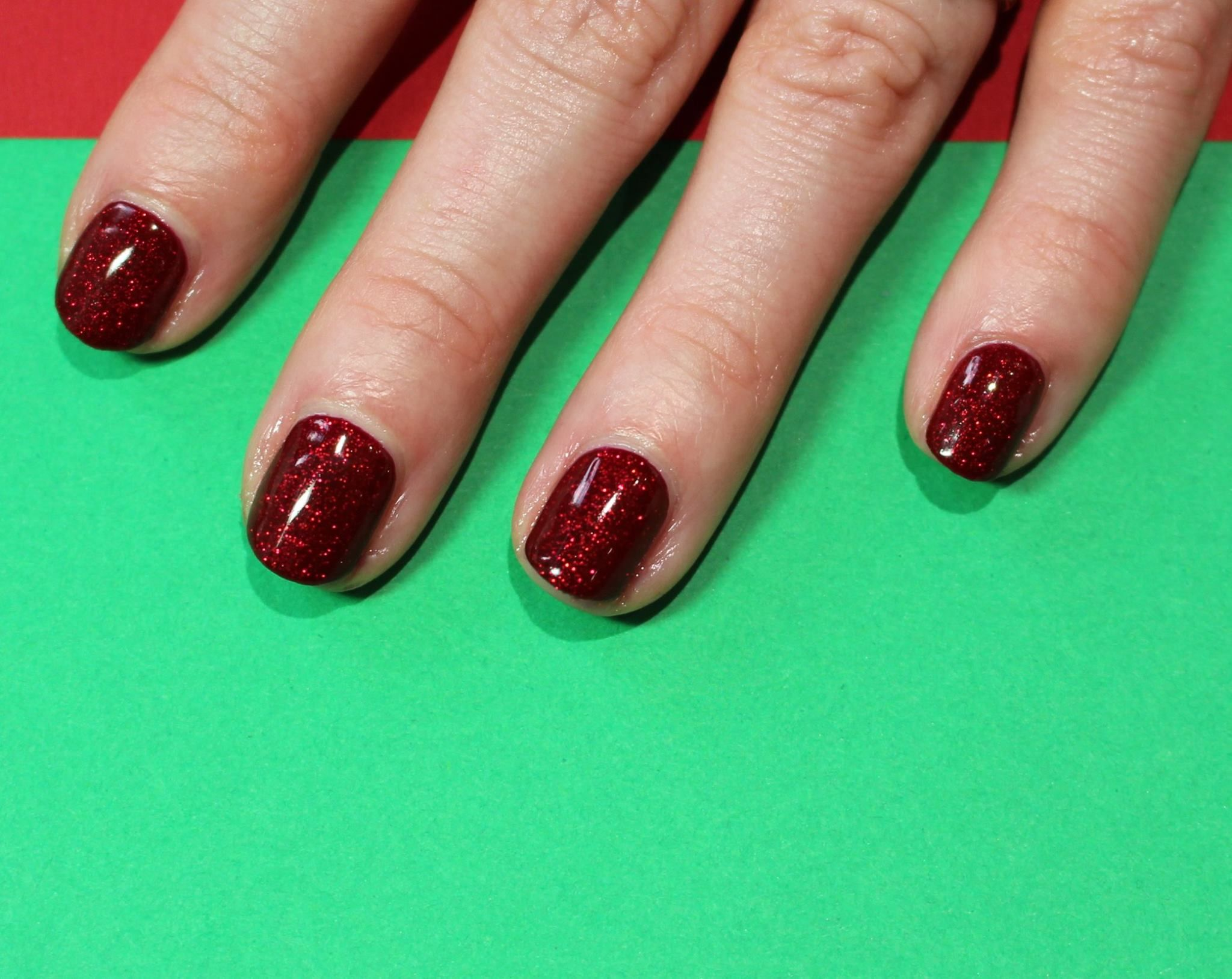 CND SHELLAC OXBLOOD AND RUBY RITZ | Nails | Pinterest