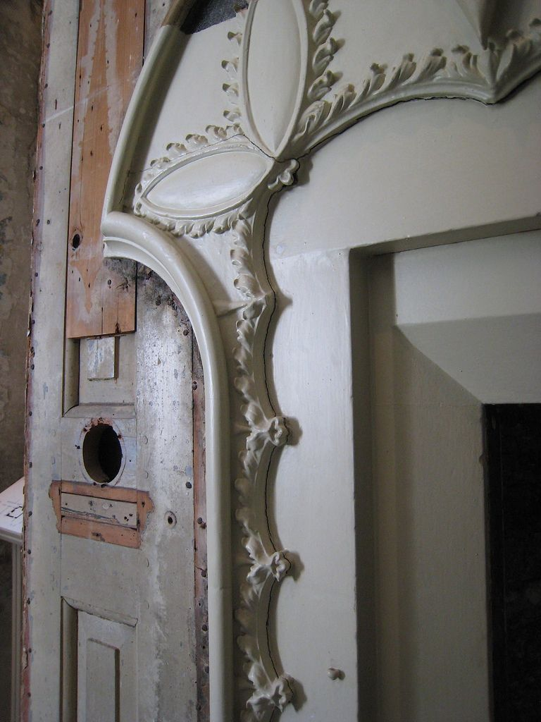 Fireplace Detail From The Yellow Bedchamber At Strawberry Hill