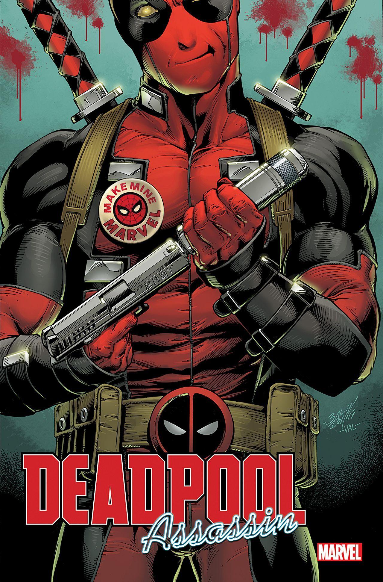 Deadpool Assassin Deadpool comic, Mark bagley, Marvel n dc