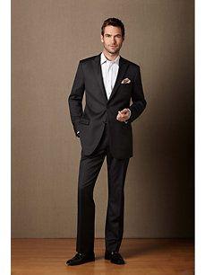 Black Suit No Tie Just For Him