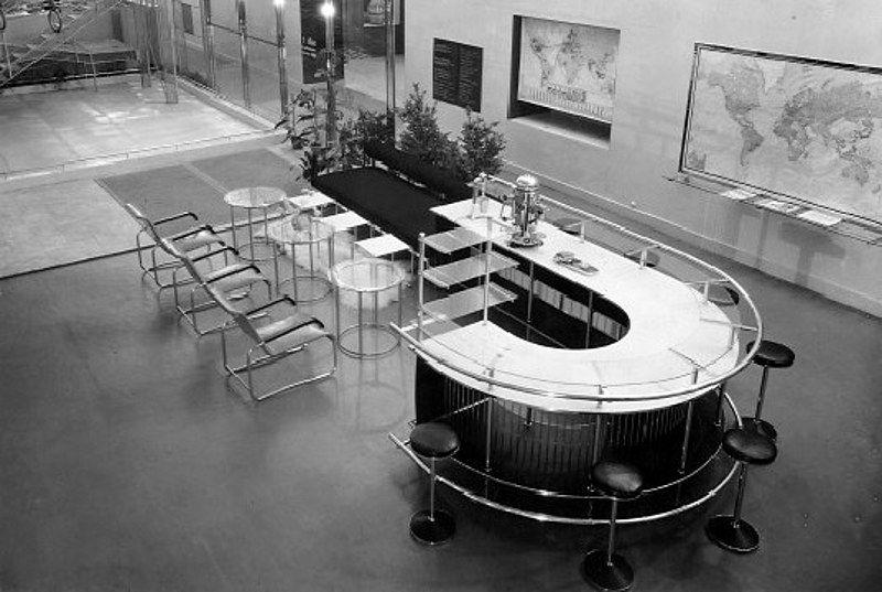 Walter Gropius, Marcel Breuer Gesellschaftsraum, Ausstellung des - badezimmer berlin ausstellung