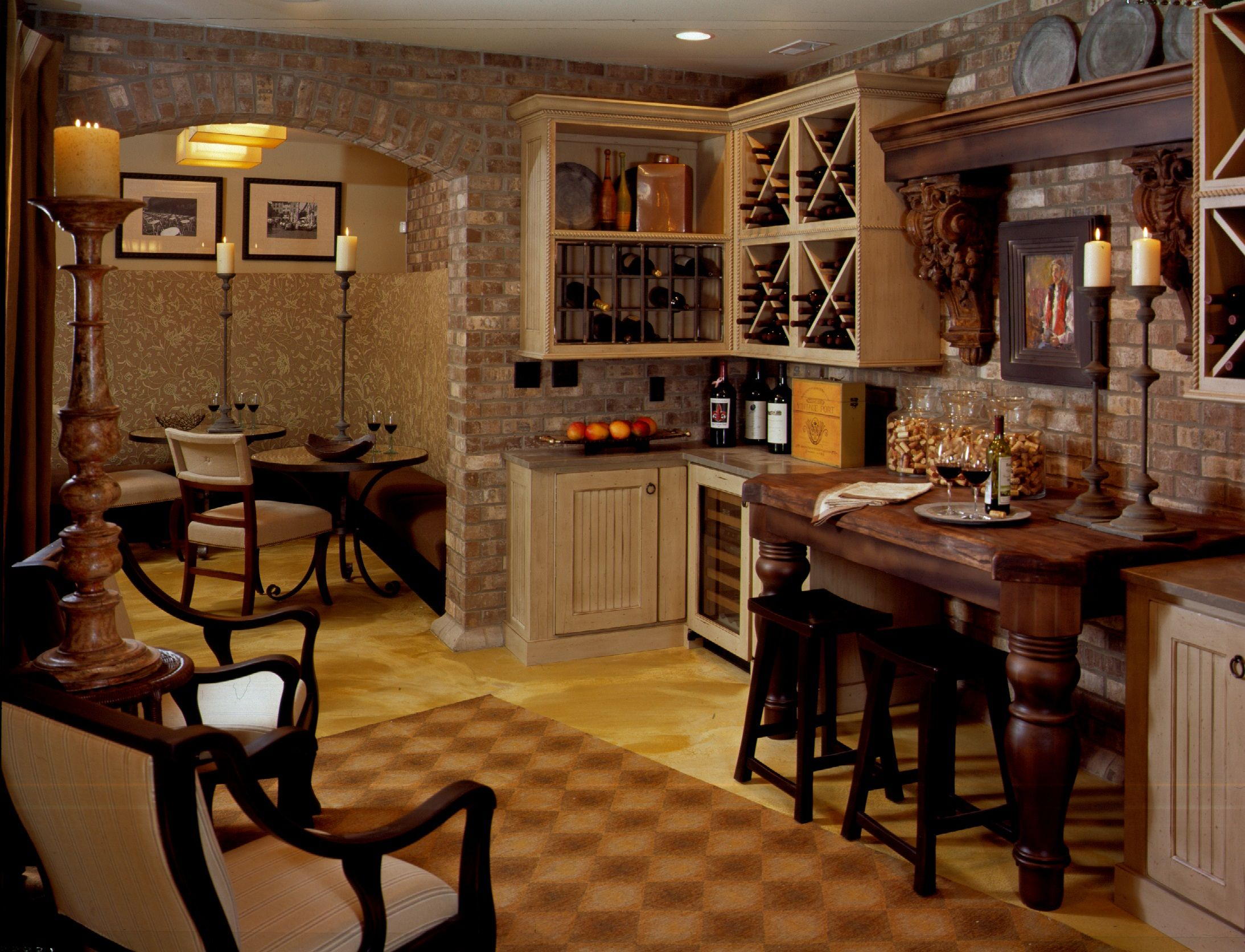 Beautiful Wine Cellar Kitchens By Design, Indianapolis