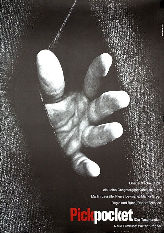 Risultati immagini per PICKPOCKET ( 1959 ) POSTER