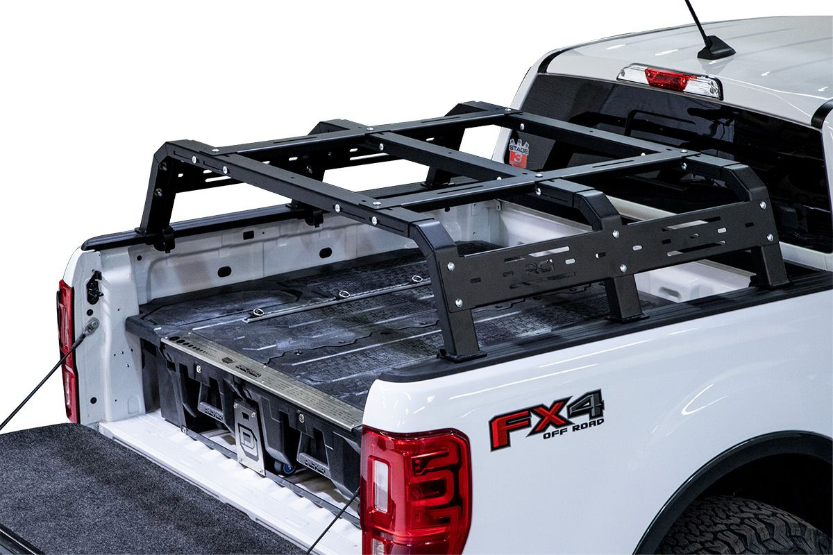 tall bed rack truck bed rails
