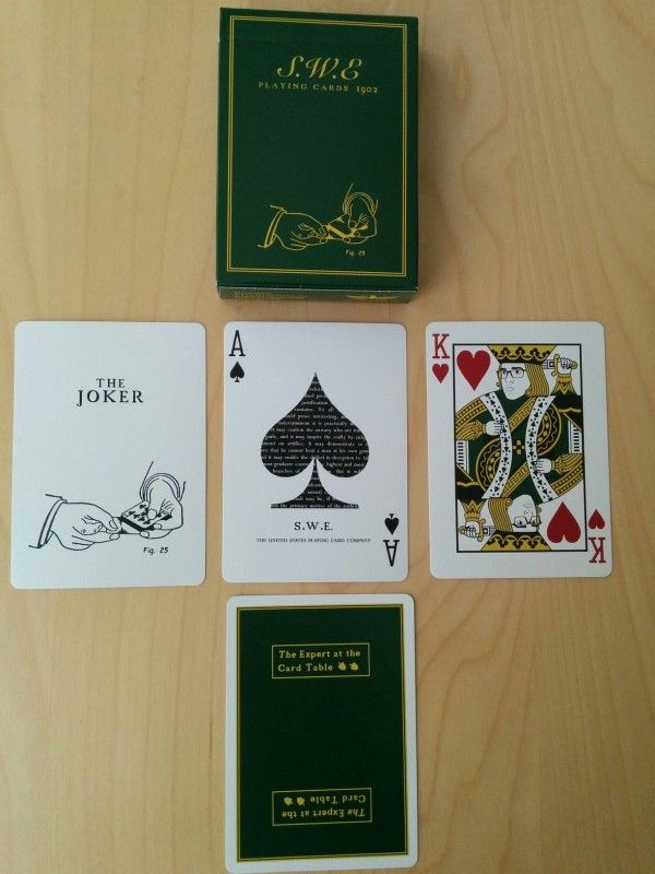 SWE Playing Cards //// ELLUSIONIST