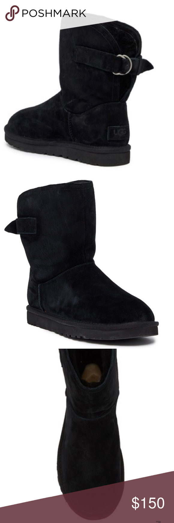 1ac669c16b3 UGG Shoes | Brand New Authentic Black Remora Ugg Boots | Color ...