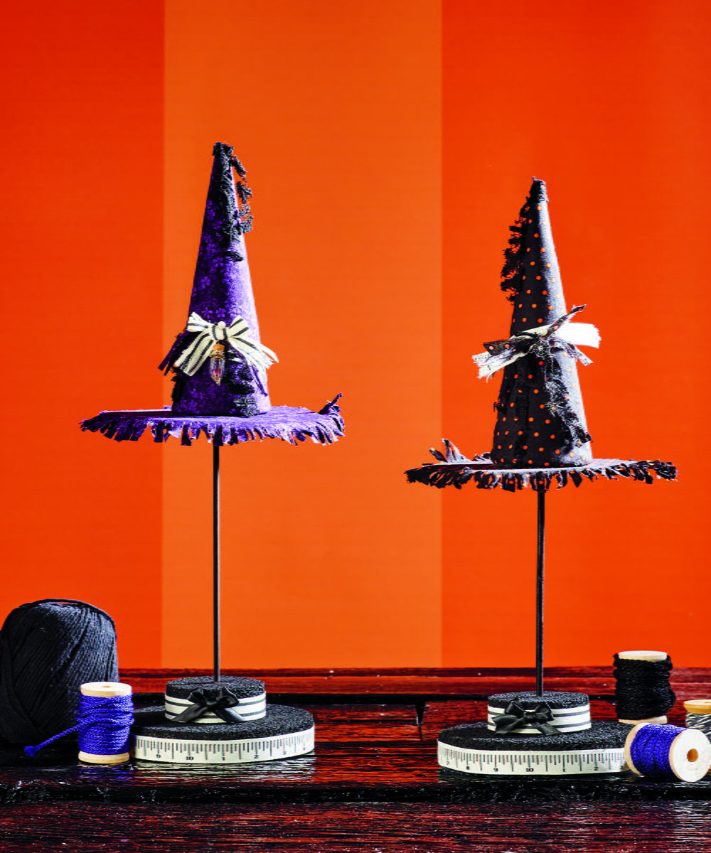 witch hat topiary halloween centerpiece witches and craft