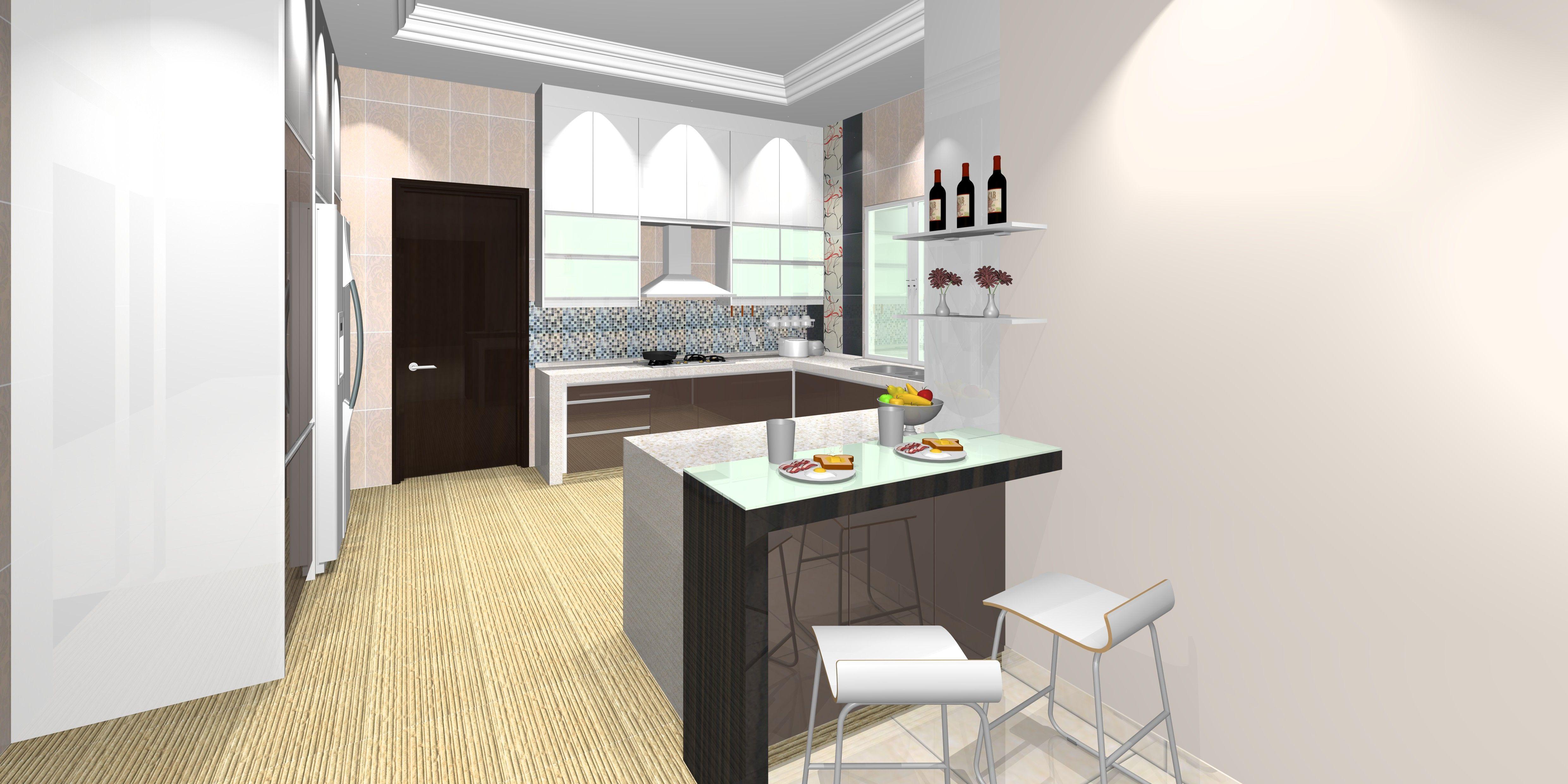 Pinthe Rustic Kitchens On Open Kitchens  Pinterest  Open Custom Wet Kitchen Design 2018