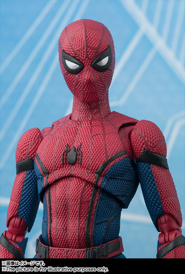 Official S H Figuarts Spider Man Homecoming Figure Images Info