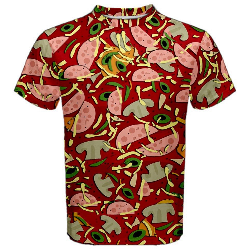 Pizza Pattern Now You Can Make A T Shirt That Is Completely And