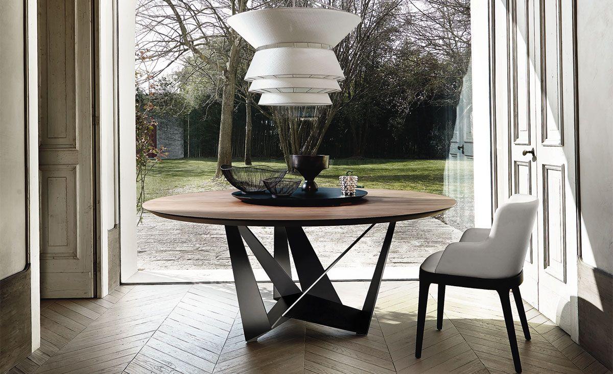 Tavolo Skorpio ~ Cattelan italia skorpio round table by andrea lucatello tavoli