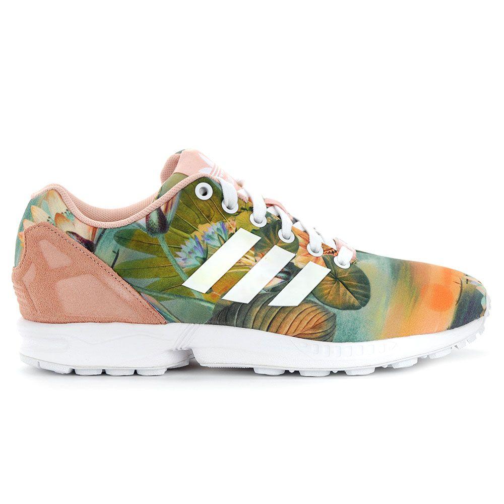 Adidas Women's ZX Flux FARM Tropical