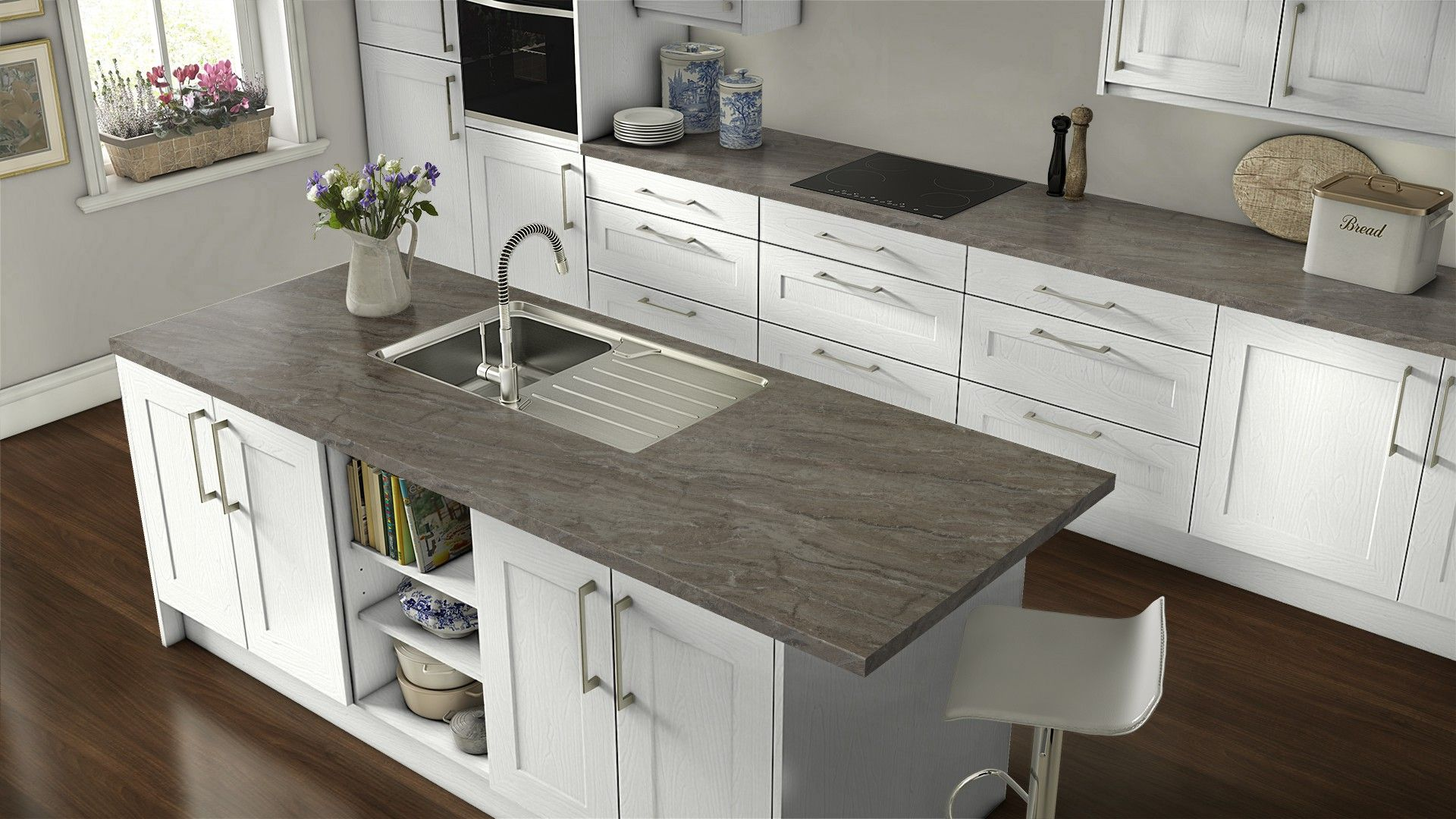 Wilsonart Bronzite Kitchen Remodel Small Kitchen Countertops