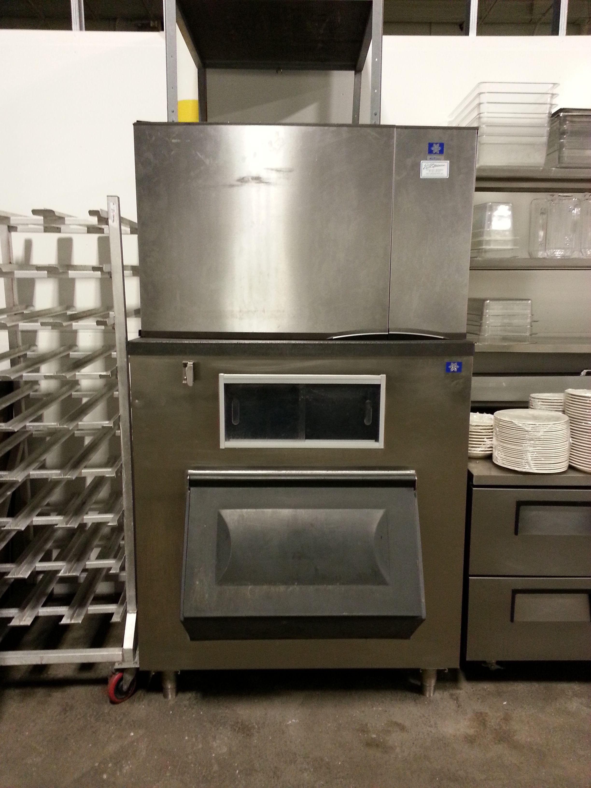 Manitowac High Volume Ice Machine Cost New Over 10 000 3950 Manitowoc Used Equipment For Sale Ice Machine