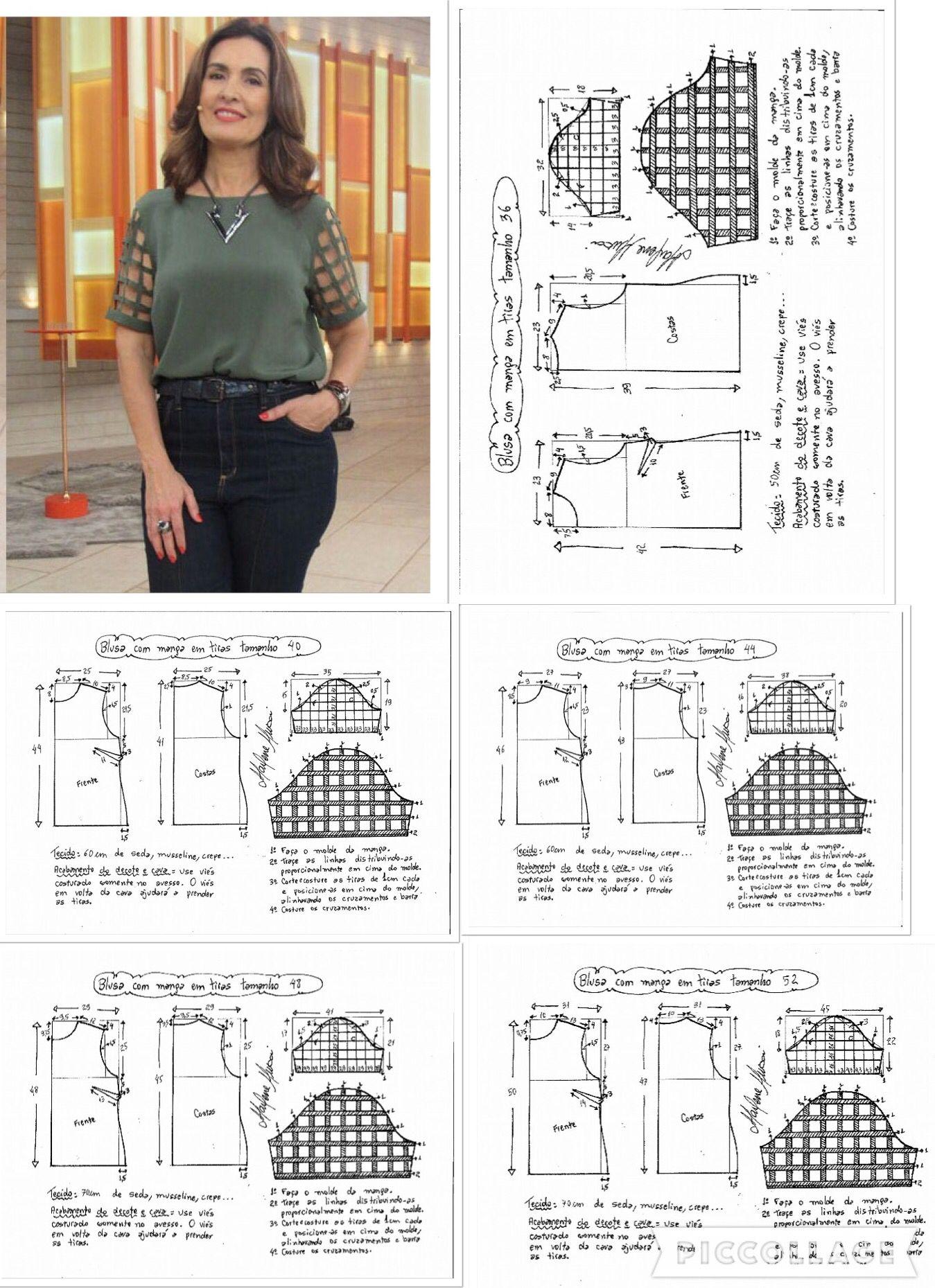 Pin de Deisy Zarate en moldes | Pinterest | Costura, Patrones y Molde