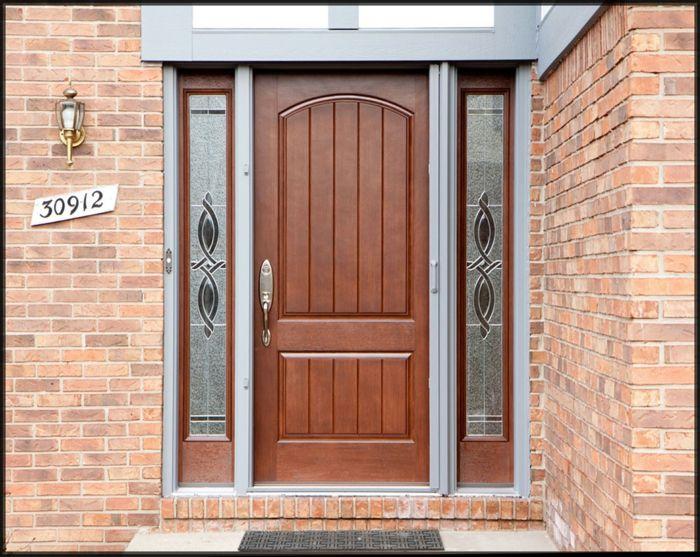 Holztüren Selber Bauen haustür aus holz selber bauen türen glas gravur tueren und