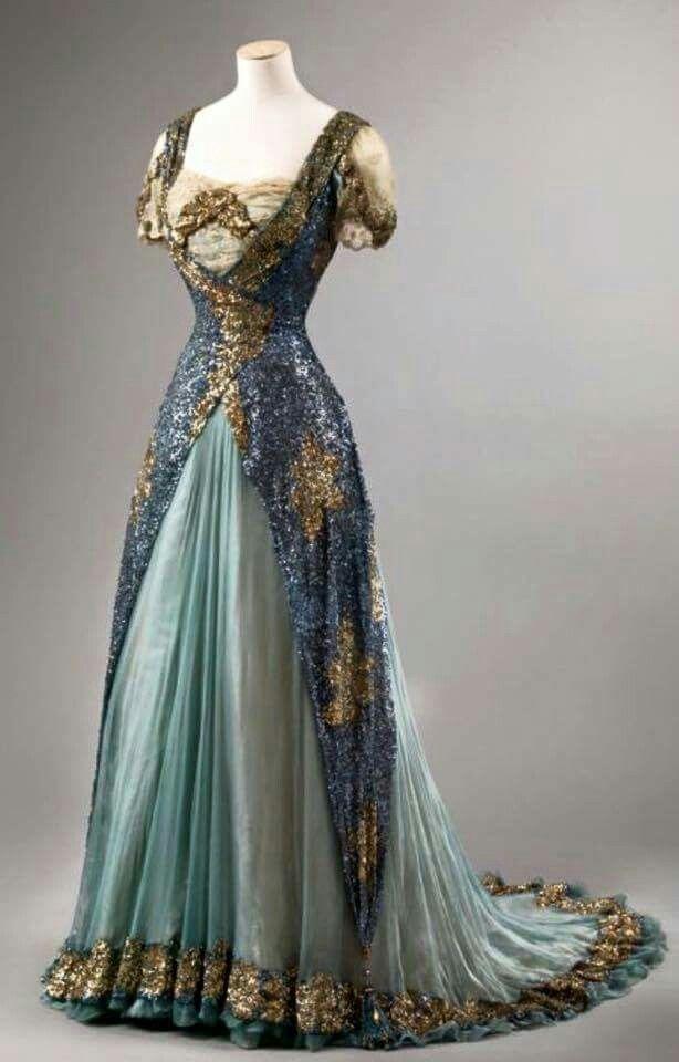 48521213879e Edwardian 1905 GORGEOUS | My world revolves around vintage! | Mode, Klänning  bröllop, Vintage kläder