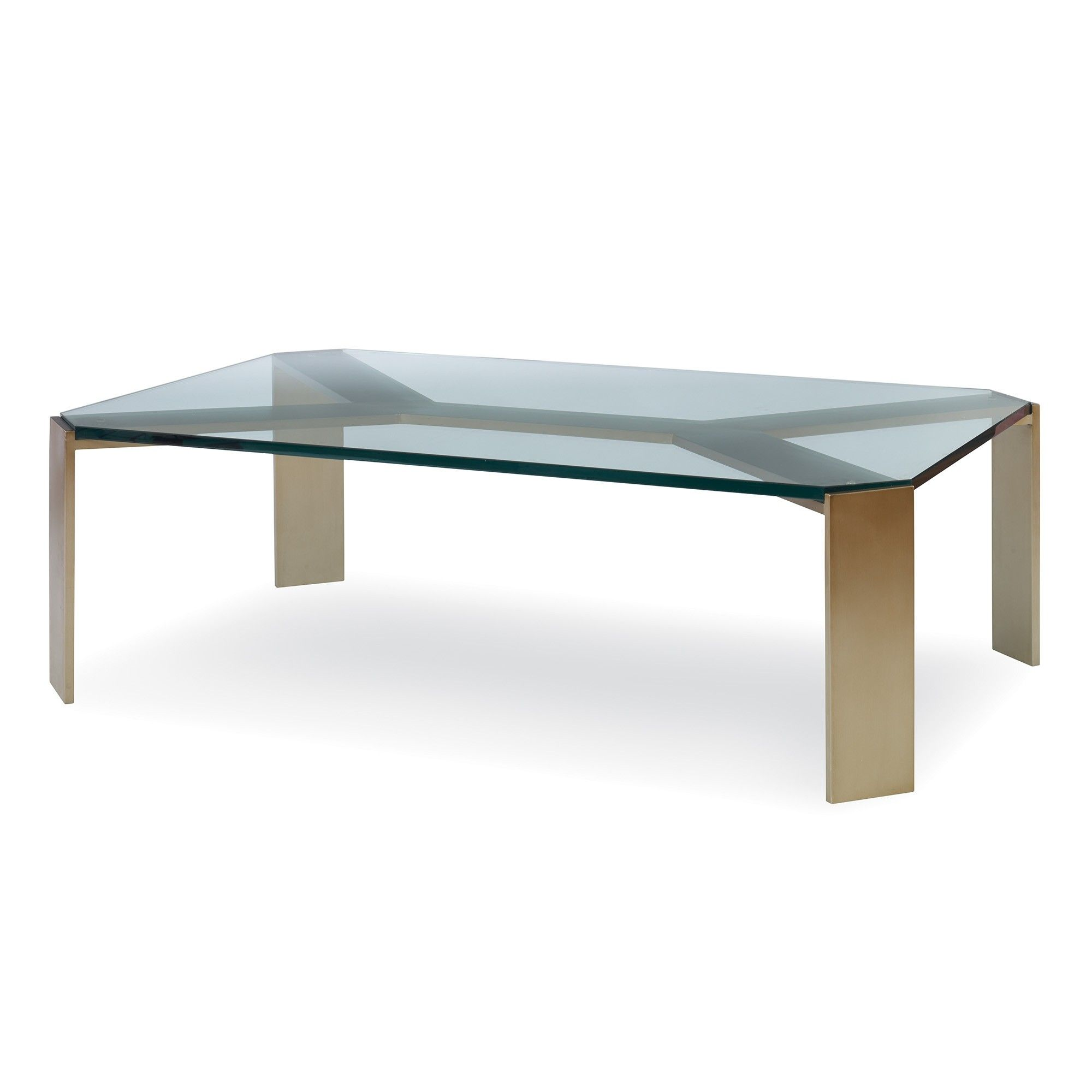 Fairfax Cocktail Table Otb852 54 With Satin Brass Finish And 3 4 Cocktail Tables Table Furniture [ 2000 x 2000 Pixel ]