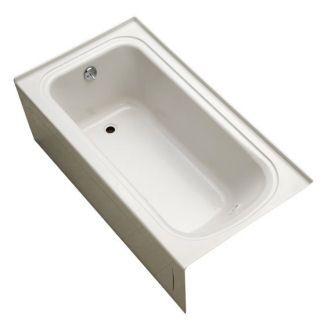 Eljer Patriot 60 Inch By 36 Inch Integral Apron Soaking Tub