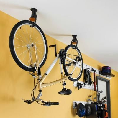 4b89a1fbfcd Gladiator Claw 1-Bike Ceiling-Mount Bike hook-GACEXXCPVK at The Home Depot