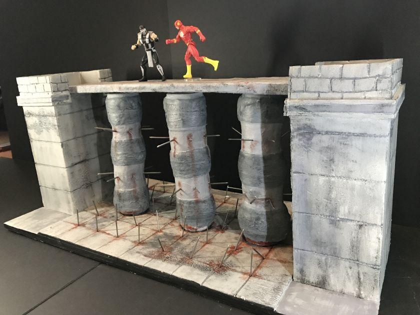 Mortal Kombat - The Pit | Dioramas | Mortal kombat, Mortal