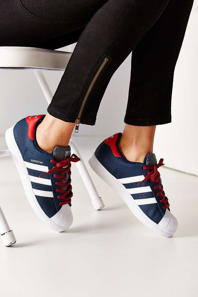 adidas superstar varsity jacket pack sneaker urban outfitters sneakers pinterest urban. Black Bedroom Furniture Sets. Home Design Ideas