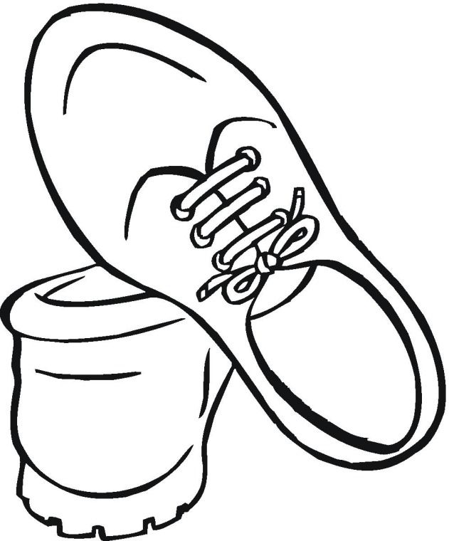 shoe coloring pages printable enjoy coloring - Shoes Coloring Pages