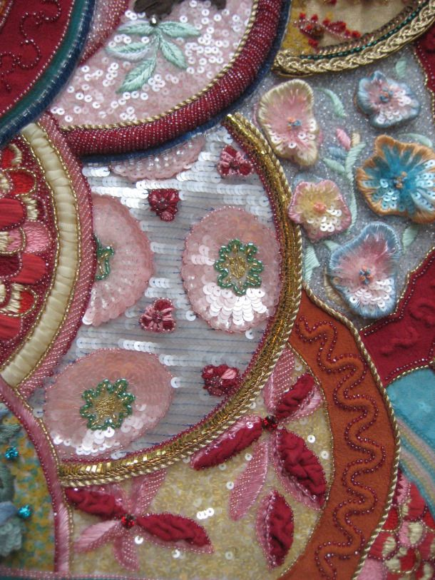An Example Of Luneville Tambour Embroidery Classes Are Now