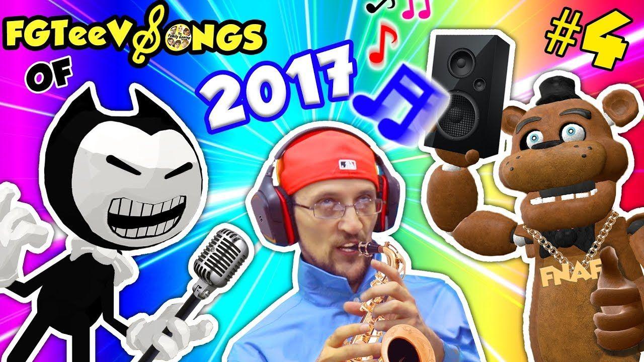 Fgteev Gameplay Songs Of 2017 Bendy The Ink Machine Band W
