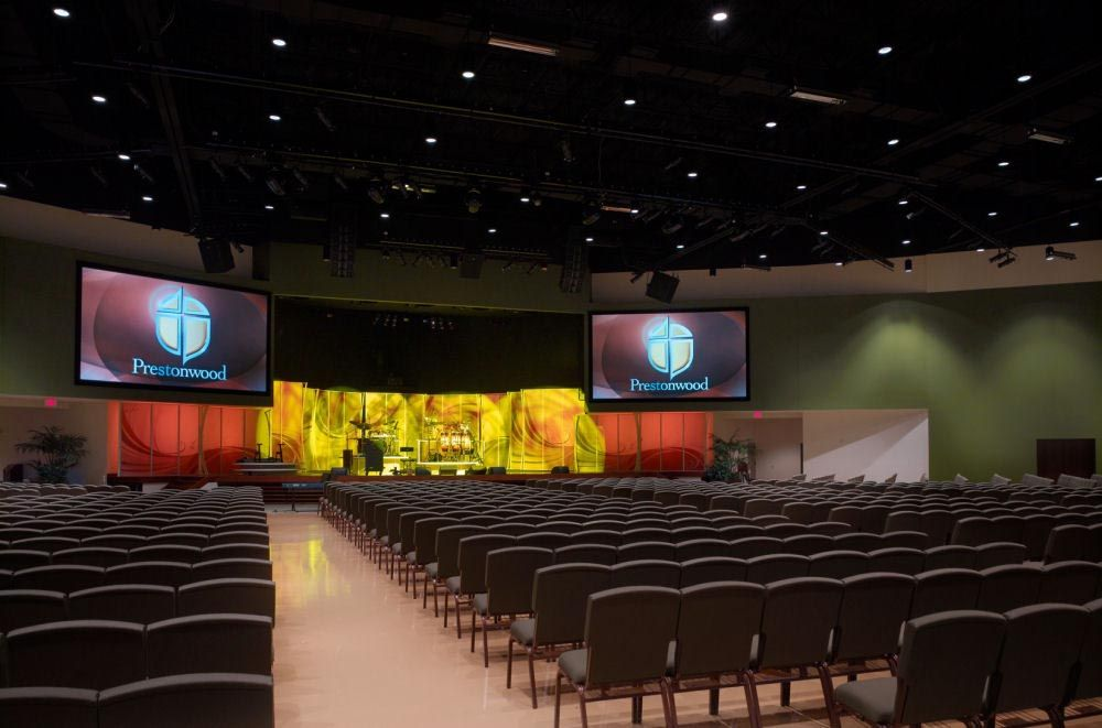 color schemes church interior church interior design ideas prestonwood baptist church - Church Interior Design Ideas