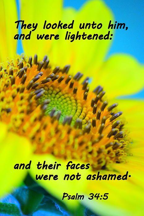 Psalm 34:5 (1611 KJV !!!!) | KJV Bible Verses | Pinterest | Psalm 34 ...