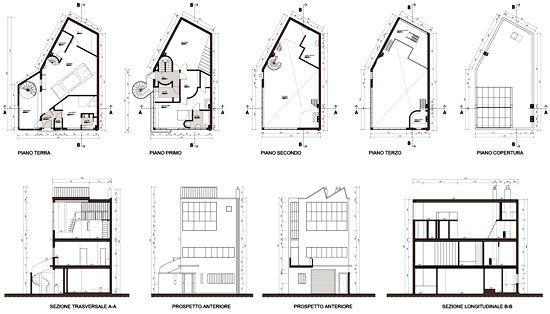 ozenfant_house_dwgjpg (1403×803) design Pinterest AutoCAD - plan architecturale de maison