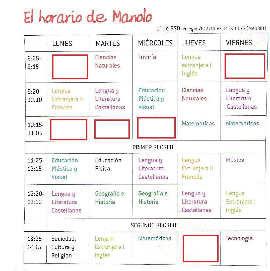 question pour un Speed Dating en espagnol