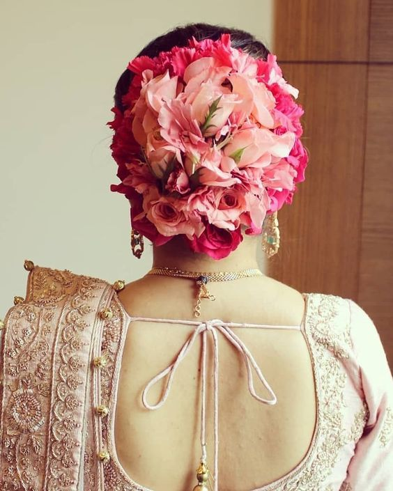 Kerala Party Hairstyles: 12 Trending Kerala Wedding Hairstyles For The Bride-to-be