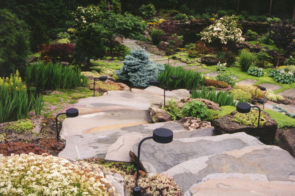 Boulder Staircase Landscaping In Bergen County Nj Natural