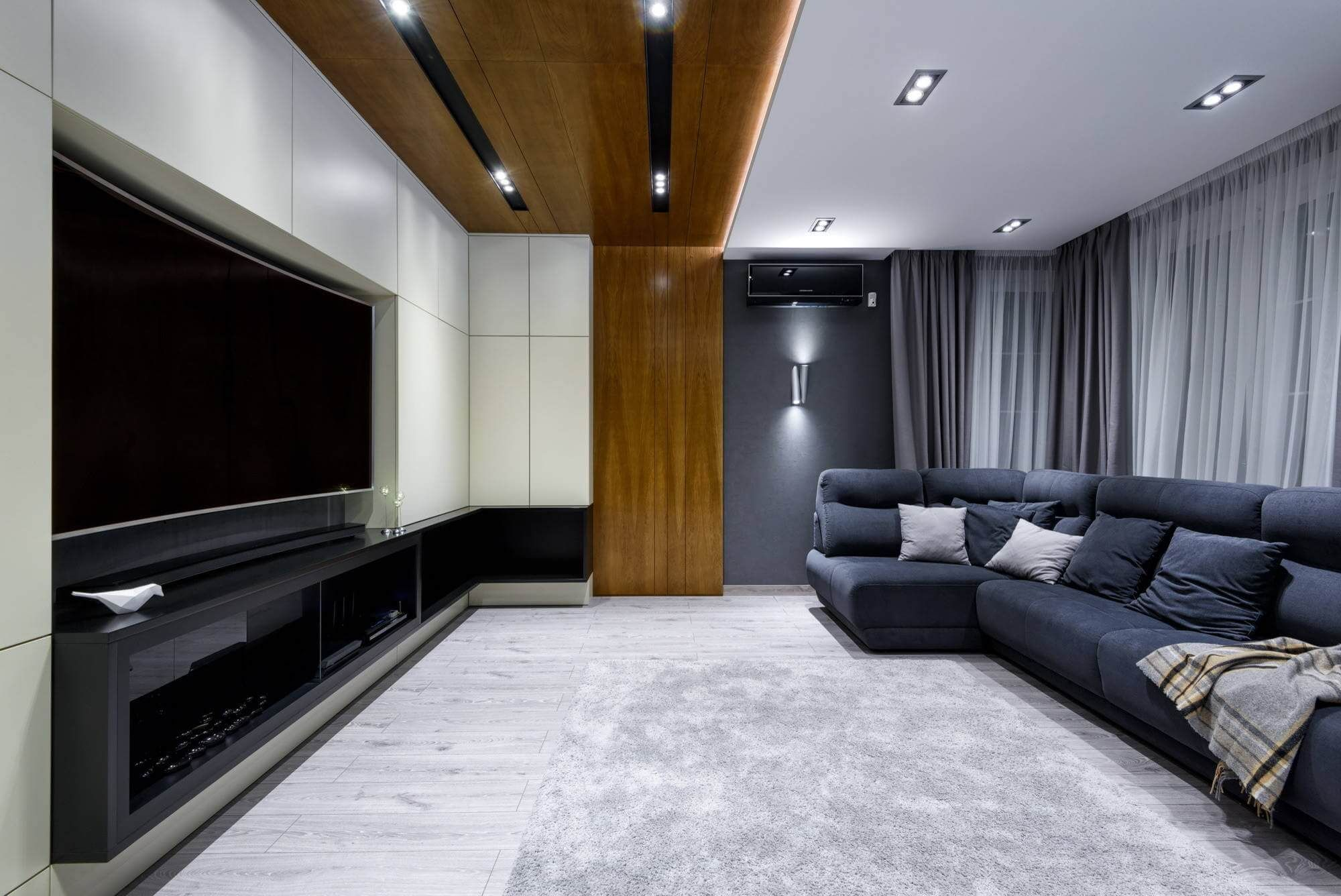 Contemporary Apartment Located In Moscow Russia Designed By N Cube