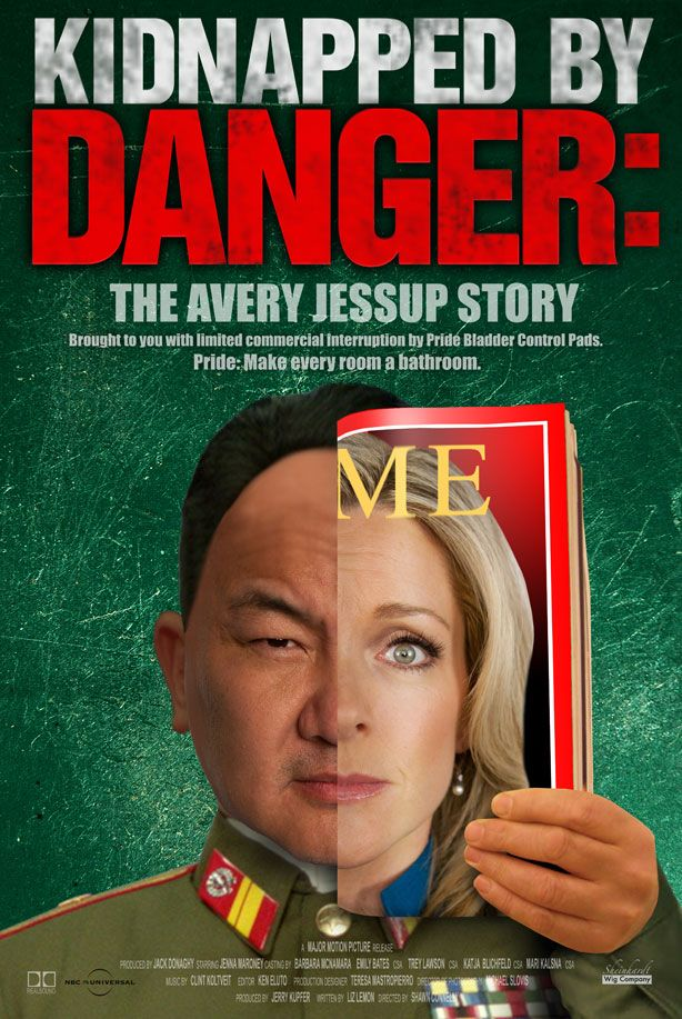 """Kidnapped By Danger"" poster"