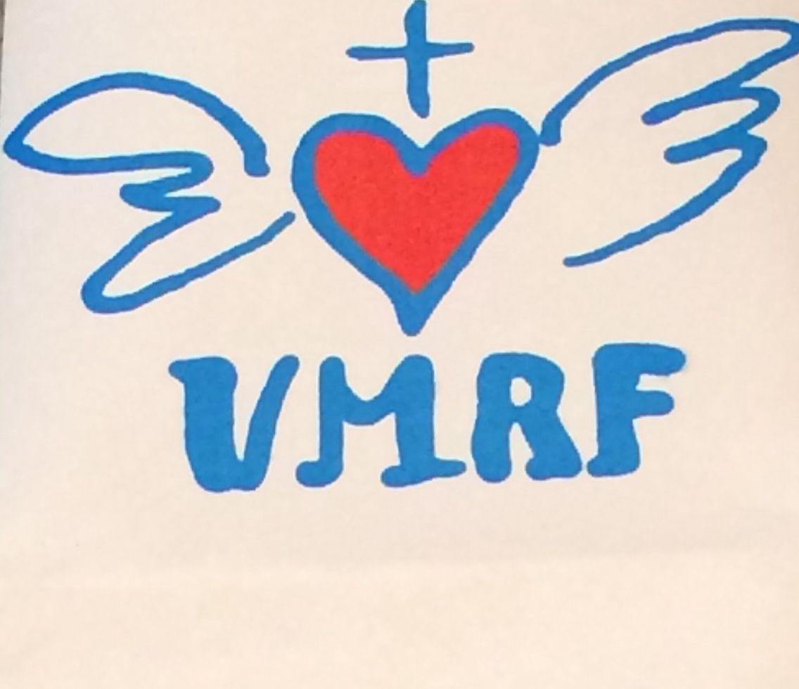Corazón con alas VMRF  Obra de Amor de la VMRF